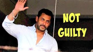 Salman Khan is NOT Guilty In Hit-And-Run Case 2002