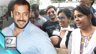 Salman Khan RELEASED | Fans Celebrate Outside His House | Hit & Run Case