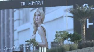 Raw: Trump posters removed from Dubai property