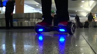 More Airlines Ban Hoverboards as a Fire Danger