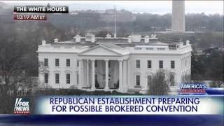 Republicans prep for brokered convention amid Trump success