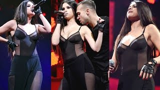 Selena Gomez Sizzles In Sheer Dress Ar Philly Jingle Ball Performance 2015