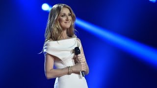 CELINE DION is a Vision in White!
