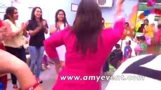 Beautiful Ladies Dancing at Bachpan School - Punjabi Boliyan | PA Sound | Amy Events