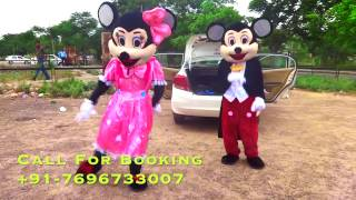Fun Dance Mickey Minnie Mouse | Cartoon Character | Amy Events | Chandigarh
