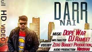 Darr Nai  | RAPPER MANNY  | NEW PUNJABI SONGS 2015  | Latest Punjabi Songs 2015  | Punjabi Rap 2015