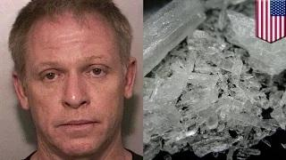 Meth-smoking air traffic controller who mishandled Michelle Obama flight arrested