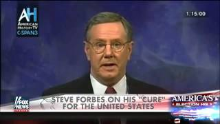 Steve Forbes on his 'cure' for the United States
