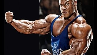 Bodybuilding:Phil Heath - Back Workout Preparation For Mr-Olympia