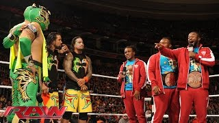 The New Day extends an olive branch: WWE Raw, December 14, 2015