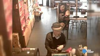'Hipster' suspect dresses up to rob Starbucks