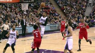 NBA: Rudy Gay With a Monster And 1 Jam!