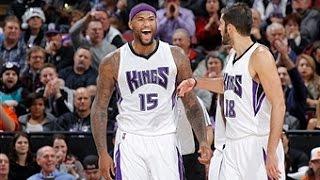 NBA: DeMarcus Cousins Duels James Harden in Sacramento