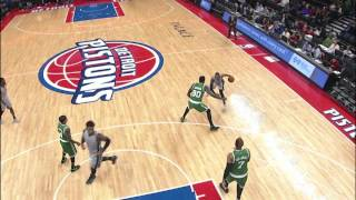 NBA: Kentavious Caldwell-Pope Spins Amir Johnson