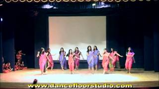 HICHKI ..Marathi Lavni Dance Performance by Dance Floor Studio