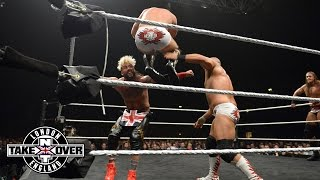WWE Network: Enzo Amore & Colin Cassady vs. Dash & Dawson - NXT Tag Team Title: NXT Takeover: London