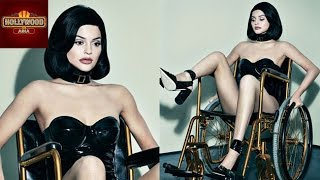 Kylie Jenner Wheel Chair Photoshoot SPARKS ANGER | Twitter Reactions