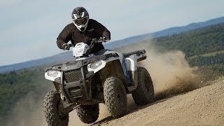 Polaris Sportsman 570 First Ride