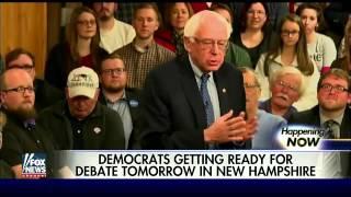 Democrats prepare for debate in New Hampshire