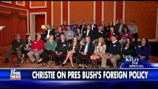 Political focus group asks Gov. Chris Christie questions