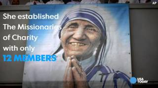 Mother Teresa selected for sainthood by Pope Francis