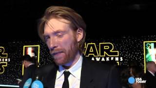 Star Wars' Gleeson 'Finally I get ti push someone around'