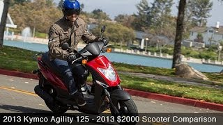 Kymco Agility 125 - Scooter Comparison
