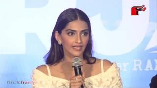Sonam Kapoor at the trailer launch of Neerja