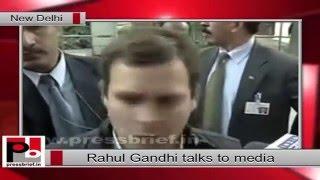 Congress Vice President Rahul Gandhi on Modi