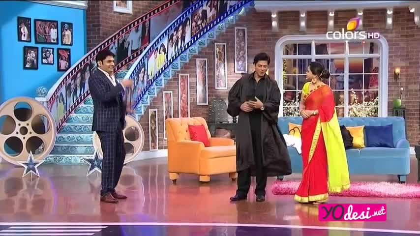 Comedy Nights with Kapil - Shah Rukh Khan & Kajol promotes Dilwale - 20th December 2015 - Part 2/4