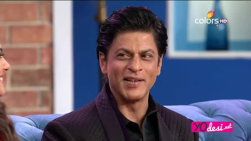 Comedy Nights with Kapil - Shah Rukh Khan & Kajol promotes Dilwale - 20th December 2015 - Part 3/4