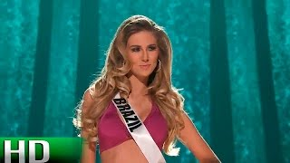 [HD] Marthina Brandt (Brazil) 2015 Miss Universe Preliminary Competition | Miss World 2015