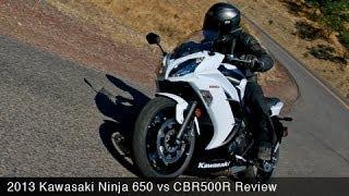 Kawasaki Ninja 650 vs CBR500R Comparison