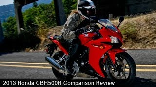 Honda CBR500R vs Ninja 300 & 650 Comparison