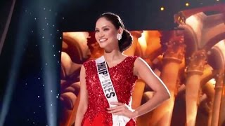 Miss Universe 2015 Preliminary PHILIPPINES Performance | Miss World 2015