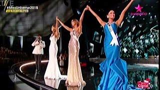 Miss Universe 2015 Final 3 [Top 3 Announcement] Miss World 2015