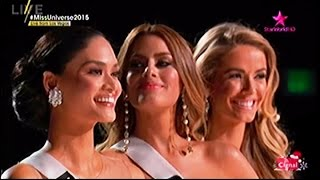 Miss Universe 2015 FINAL 3 QUESTION & ANSWER | Miss World 2015