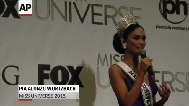 Harvey After Miss Universe: 'I Made a Mistake'