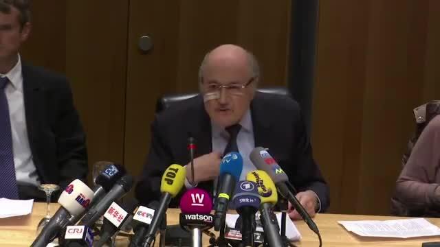 Sepp Blatter Defiant in Wake of FIFA Suspension