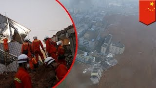 Natural disaster: landslide in Shenzhen, China collapses buildings, leaves 91+ missing
