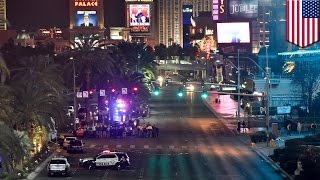 Las Vegas crash: drunk driver plows into crowd on Las Vegas Strip, at least one killed