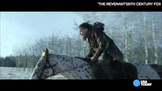 DiCaprio - 'The Revenant' is an 'amazing story'
