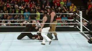 Kane vs. Bray Wyatt: WWE Raw, December 21, 2015