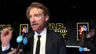 """Domhnall Gleeson-The m is there to """"confuse Americans"""""""