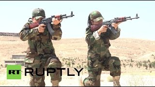 Syria: Female fighting battalion take on ISIS to defend mother Syria