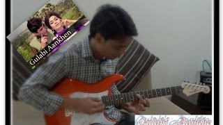 Gulabi Aankhen Revisited (Guitar Cover) by Subodh & aRJun