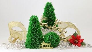DIY Christmas Decoration: Easy Tabletop Paper Xmas Tree