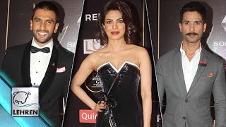 Guild Awards 2015 Red Carpet   Priyanka Chopra   Shahid Kapoor