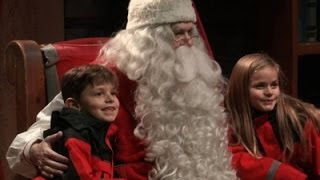For Santa Sightings, Tourists Flock to Finland
