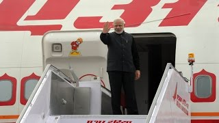 PM Modi departs from New Delhi to Moscow, Russia for the annual India-Russia Summit
